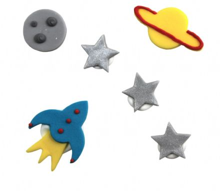 Space Sugar Decorations